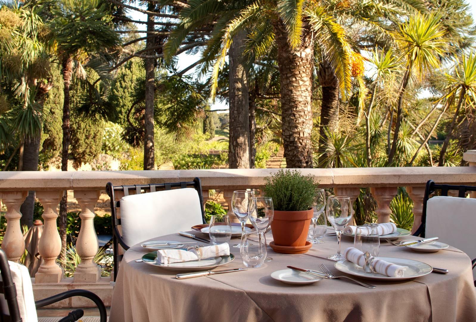 restaurant gastronomique la palmeraie