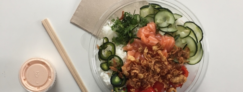 Poke Bowl hawaiien